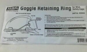 459458 MSA GOGGLE RETAINING RING FOR MSA SAFETY CAPS NEW SEALED