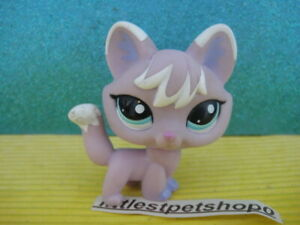 Littlest Pet Shop #2400 Purple white fox