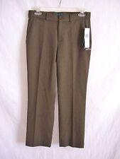 RALPH LAUREN Brown Wool 'Camaron' Modern Slim Trouser Pants $189 NWT sz 2