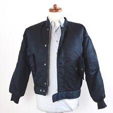 SCHOTT 86 19-MS Flight Jacket Coat Gr S Marineblau Navy Blue Military Small Cool