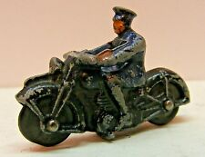 DINKY TOY #37b Police Motorcycle