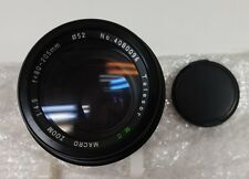 Telesor Lens 80 - 205 F 4.5 One Touch Zoom Telephoto for Minolta MD, NIB
