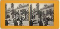 Algeria Algeri La Cattedrale Foto Stereo Vintage Analogica c1900