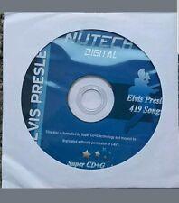 Elvis SCDG Karaoké Disc Nutech 419 chansons ON ONE Disc