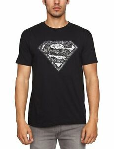 SUPERMAN- DISTRESSED LOGO Official T Shirt Mens Licensed Merch New