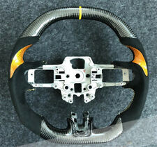 Carbon Fiber Steering Wheel For Ford Mustang EcoBoost 5.0 GT Premium Coyote