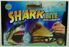 Shark Bite Tooth Excavation, Science Archaeology Paleontology Game, New