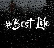 #Best VITA Van Vita Divertente Auto/Furgone/Paraurti BEST LIFE STICKER CAMPER Surf DUB Insta