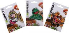 Die Muppets Bügelbilder Kermit Miss Piggy Tier: 3-teiliges Set, Gr: ca 7x5cm