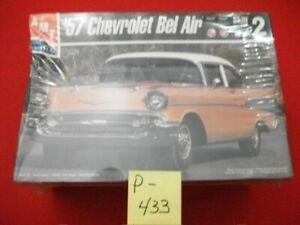 BRAND NEW SEALED NOS AMT/ERTL '57 CHEVROLET BEL AIR MODEL # 8315-100P 150+ PARTS