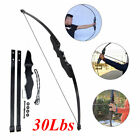 """51"""" 30 lbs Archery Hunting Takedown Bows Recurve Bow Shooting Set For Right Hand"""
