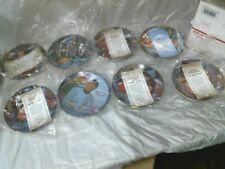 STAR TREK SET OF 8 PLATE COLLECTION