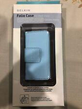 Belkin Folio Case For Ipod Nano F8Z 058tt Blue