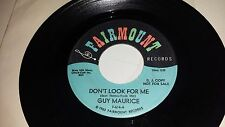GUY MAURICE You've Got To Move Dont Look For Me FAIRMOUNT DEEP SOUL ROCKER 45 7""