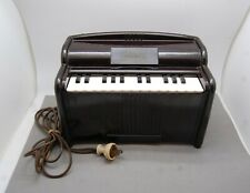 Magnus Organ Electric Child Vintage Works Cord Needs Replacing Bakelite