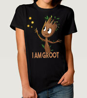 Baby Groot T-Shirt, Guardians of the Galaxy Marvel Tee, Men's Women's All Sizes