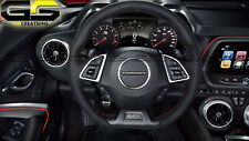 6th Gen 6 CAMARO 50th ANN Suede Steering Wheel Automatic Transmission Only