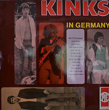 "THE KINKS- THE KINKS IN GERMANY PYE LDVS 17077 P 12"" LP (S158)"