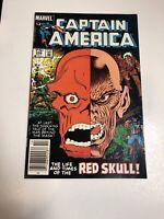 Captain America (1984) # 298 (VF/NM) Canadian Price Variant CPV...Red Skull !!