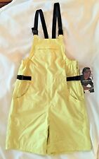 NWT HENRI LLOYD Womens Yellow Sailing Bibs-Size Sm-Mesh Lined-Pockets
