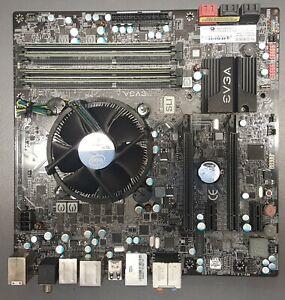 Evga Z68 SLI micro mainboard, Intel i3-3220 CPU and 8GB Team DDR3 RAM (sil)
