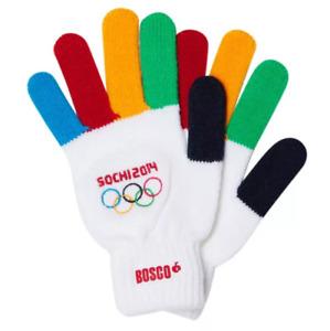 Gloves (Xs - S) Official Merchandise Olympic Games Sochi 2014 Bosco Sport