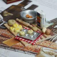 1:12 Miniatur Puppenstube Gebäck Backwerk Puppenhaus H3R5 Kücheneinrichtu M Z9C4