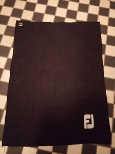 Footjoy Golf Towel Navy Blue