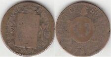 Monnaie Française Sol aux balances 1793 BB
