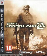 CALL OF DUTY MODERN WARFARE 2 for Playstation 3 PS3 - with box & manual