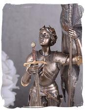 Jeanne D´arc SCULTURA santo Vergine von Orleans Figura Veronese Scultura