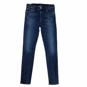 Citizens of Humanity Jeans womens 30 High Rise Skinny Rocket Dark Stretch Denim