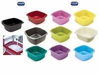 Addis Large Plastic Washing Up Bowl Rectangular Kitchen Sink Basin Tidy 8 LTR