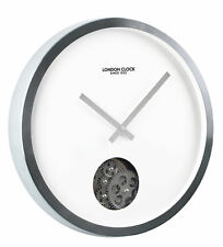 London Clock Company Revolution Wall Clock With Rotating Cogs