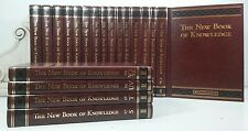 2005~The New Book of Knowledge~BROWN GOLD~Children's Encyclopedia Collection