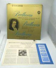 BEETHOVEN Complete String Quartets & 3 Piano Quartets Vol IV Manheimer Trio
