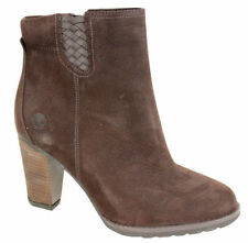 Bottines marron Timberland pour femme