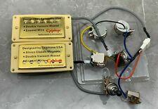 Epiphone '57 Classic Alnico Humbucker Set mit Push/Pull in Goldene Farbe