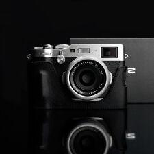 GARIZ HALF CASE IN PELLE NERA - Fujifilm X100F