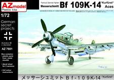 """AZ Models 1/72 Messerschmitt Bf-109K-14 """"Kurfurst"""" Aces # 7601"""