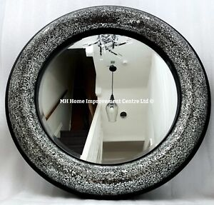 Crackled Round Decorative Mirrors For Sale Ebay