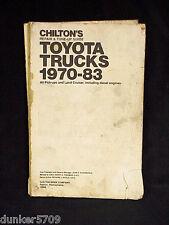 CHILTON REPAIR & TUNE-UP GUIDE TOYOTA TRUCKS 1970-83