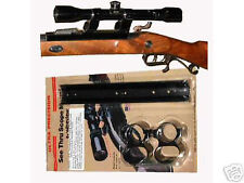 """WIDEVIEW SEE THRU SCOPE MOUNT THOMPSON CENTER RENEGADE FOR 1"""" BARRELS"""