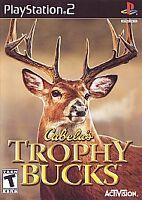 NEW SEALED Cabela's Trophy Bucks (Sony PlayStation 2, 2007) PS2