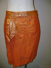 Elie Tahari Orange Hadley Skirt 6 NWT $268