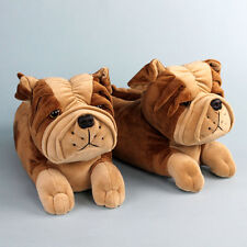 Bulldog Slippers - Animal Slippers for Men & Women