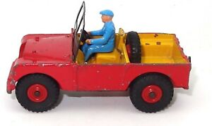 DINKY NO. 340 LAND ROVER -RED - ULTRA RARE $600 VERSION  L2