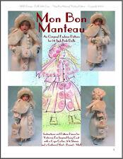 """""""Mon Bon Manteau"""" Fashion Pattern for Kish Chrysalis"""
