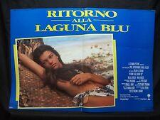 FOTOBUSTA CINEMA - RITORNO ALLA LAGUNA BLU - MILA JOVOVICH - 1991 - AVVENTURA