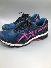 ASICS GT-1000 4 Running Shoes Size 9.5 T5A7N Pink/ Navy/ Black